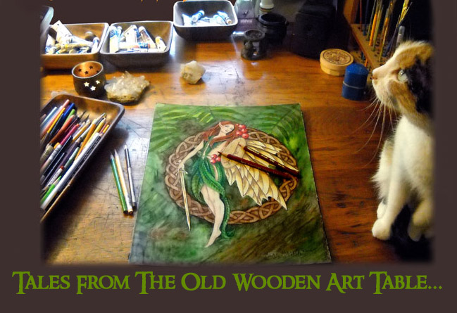 Tales from the Old Wooden Art Table