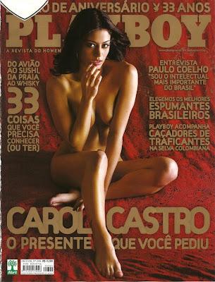 Carol Castro na Playboy