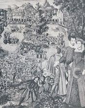 Valois Tapestry--Chateau de Fontainebleau