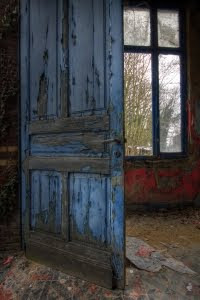 I see not the old & decrepit, rather the invitation to enter & explore