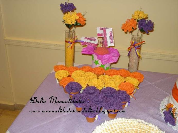 souvenir y centros de mesa