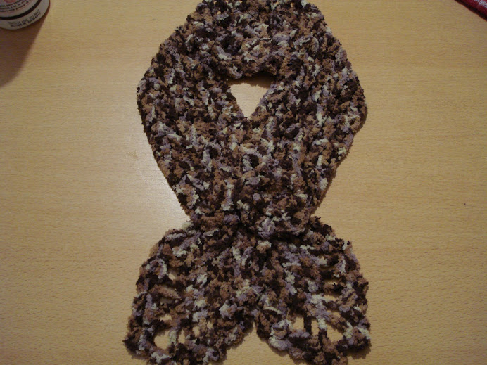 chalina en lana matizada