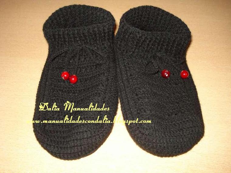 pantuflas negras