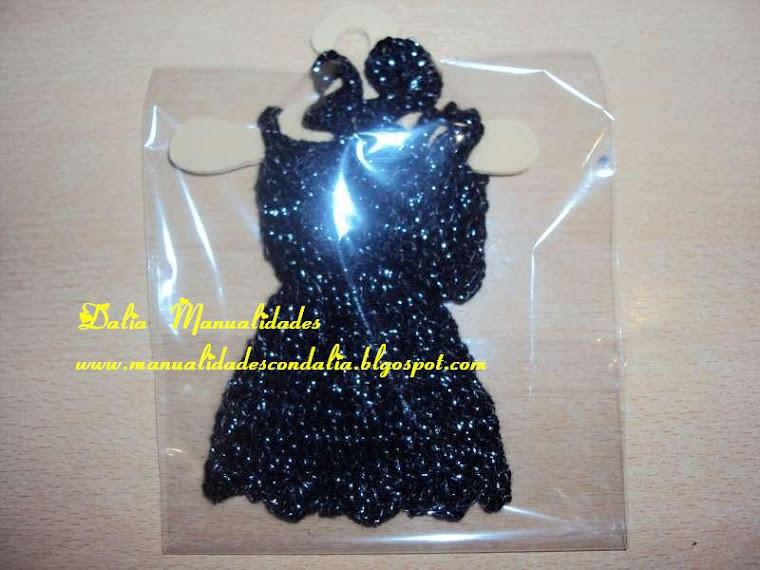 vestido negro de fiesta para barbie