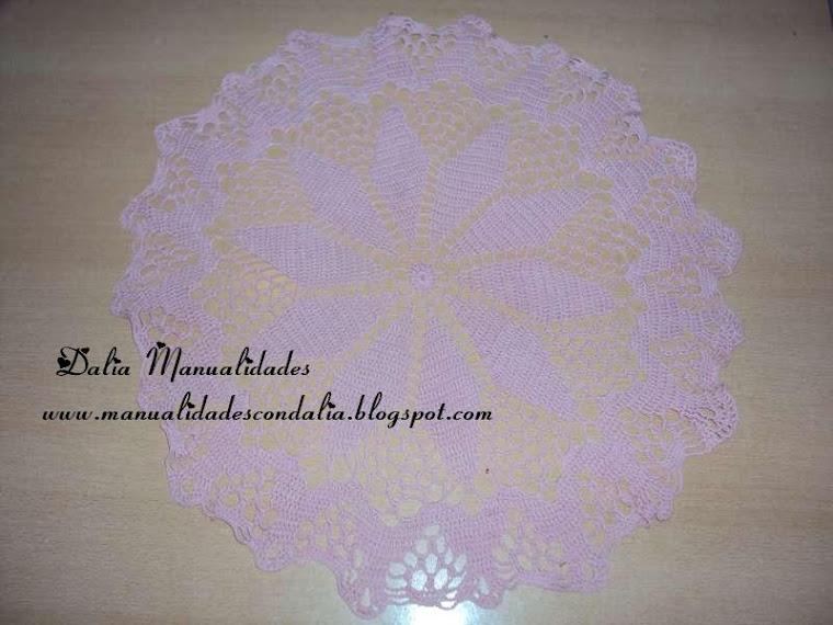 carpeta redonda rosa viejo