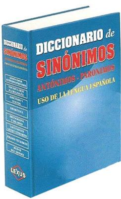 Descargar Diccionario Lexus de sinónimos, antónimos y ... - photo#6