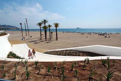 Playa Poniente  Benidorm - Alsanch Hoteles en Benidorm