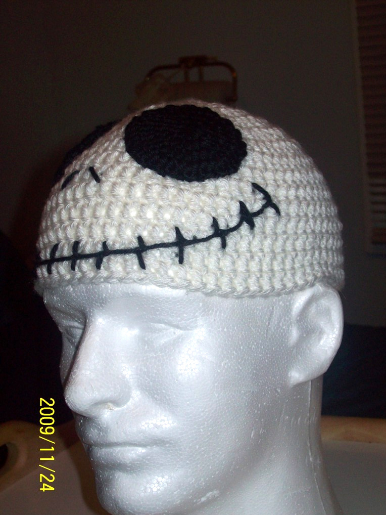 Chriscrosscrafts Jack Skellington Hat