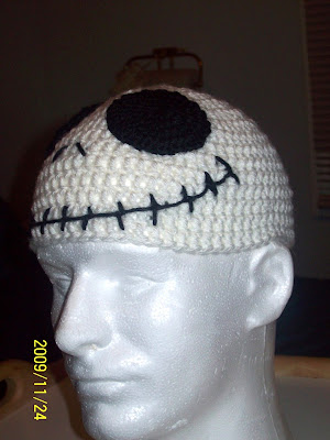ChrisCrossCrafts: Jack Skellington Hat