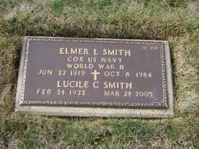 Elmer and Lucile Smith gravesite