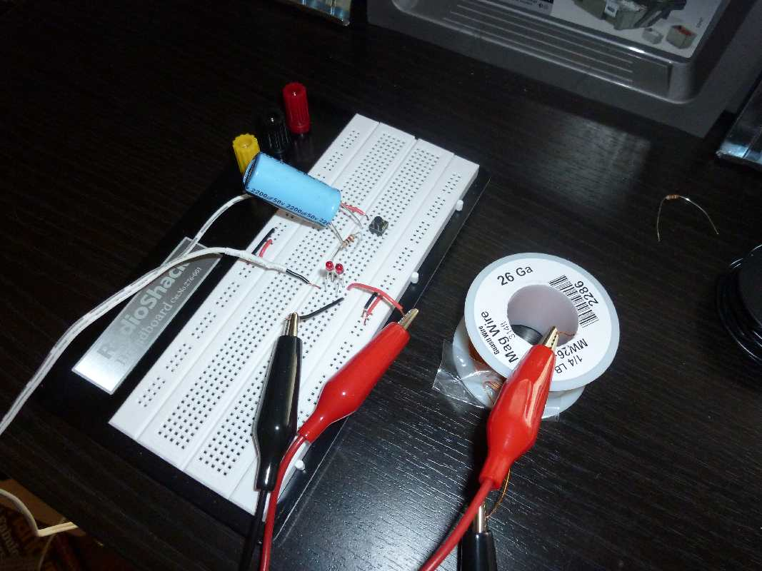 Hands On - Make: Electronics: Chapter 5 - Exercise 28