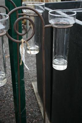 Regnmätare glas