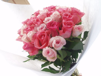 Jolies roses...