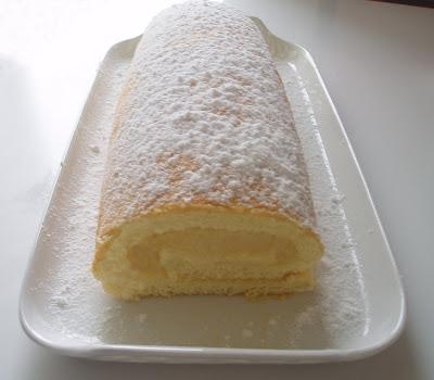 Bras de gitan crème pâtissière