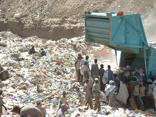 Risk assessment for the hazardous waste management
