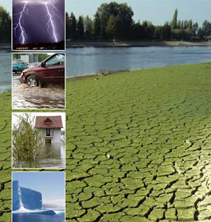 Some facts about weather and climate change