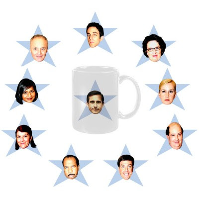 The Office Star Mug Set Notice There Aren T Mugs For Pam Jim And Dwight They Didn Go To Party Therefore Got Blacklisted By Kelly