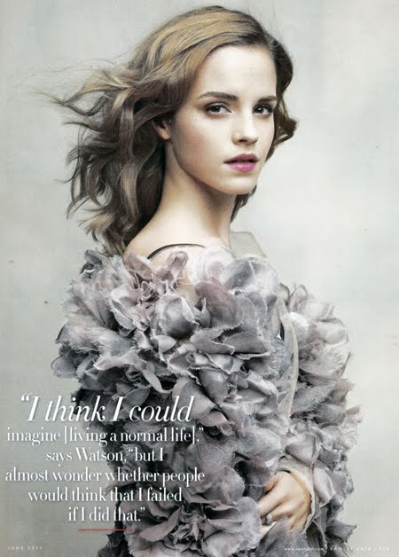 Here are some photos of Emma Watson Vanity Fair June 2010 Pictures we found