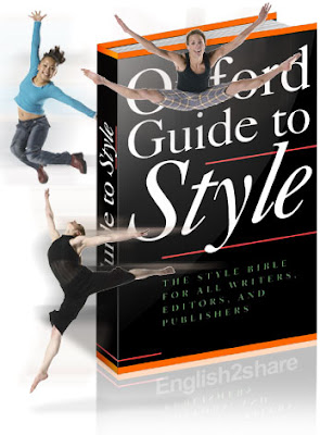 Oxford guide to style