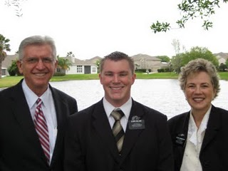 Elder Nelson with Pres & Sis Darrington