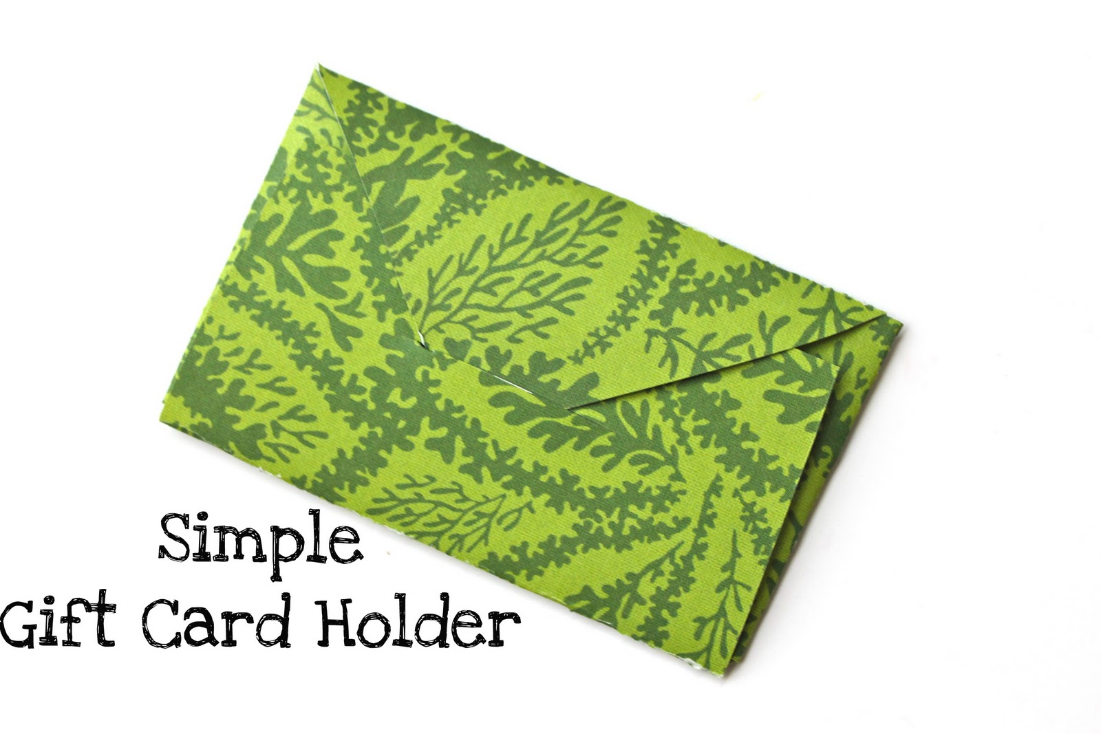 Print amp make origami business card holder  The House That