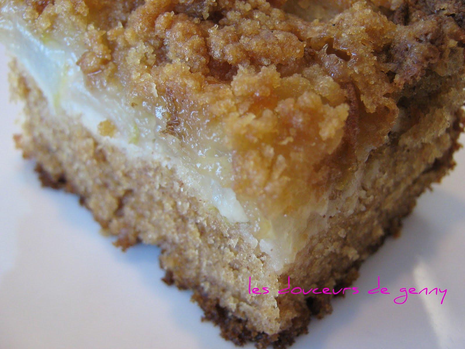 Cake Pomme Noix Cannelle Alsacien