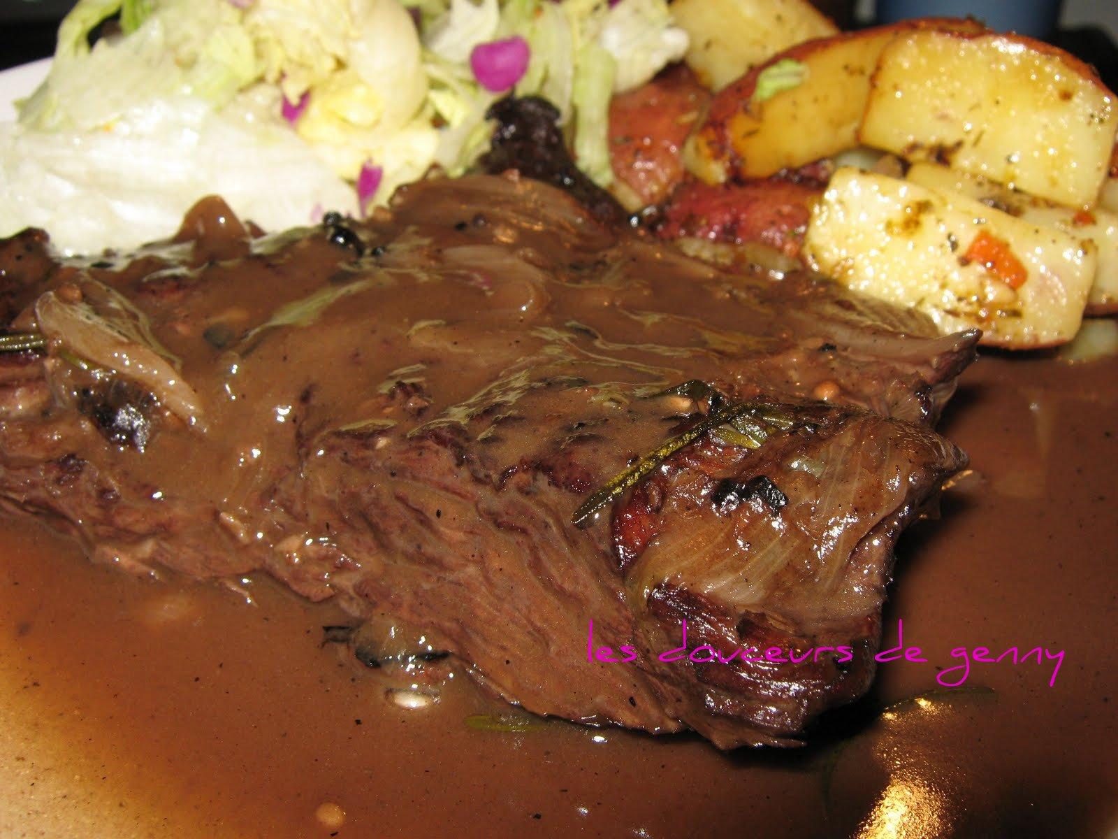 Les douceurs de genny bavettes aux chalotes et vin rouge - Marinade pour viande rouge ...