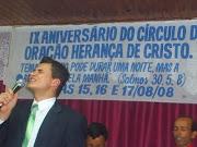 Pregando em Rio Azul-PR Agua Quente