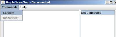 break design simple java chat client server some images