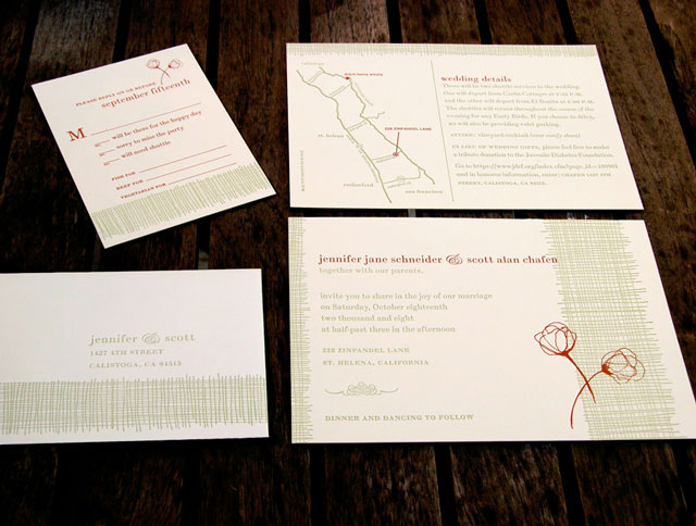 RusticPoppies 092308 0006 Wedding Invitations — Chewing the Cud, part2