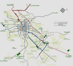 Plano de Upata Estado Bolívar