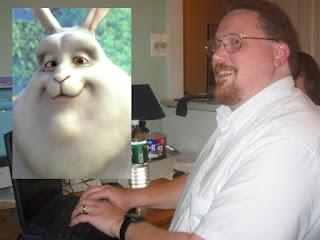 alan looks like big buck bunny