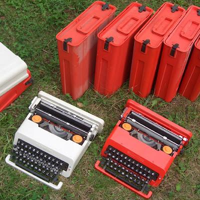 """Olivetti """"Valentine"""" typewriter by Ettore Sottsass, 1969"""