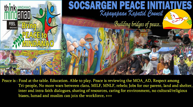 SOCSARGEN PEACE INITIATIVES