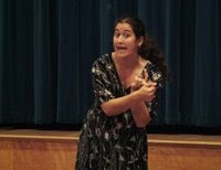 Professional Storyteller Doria Hughes