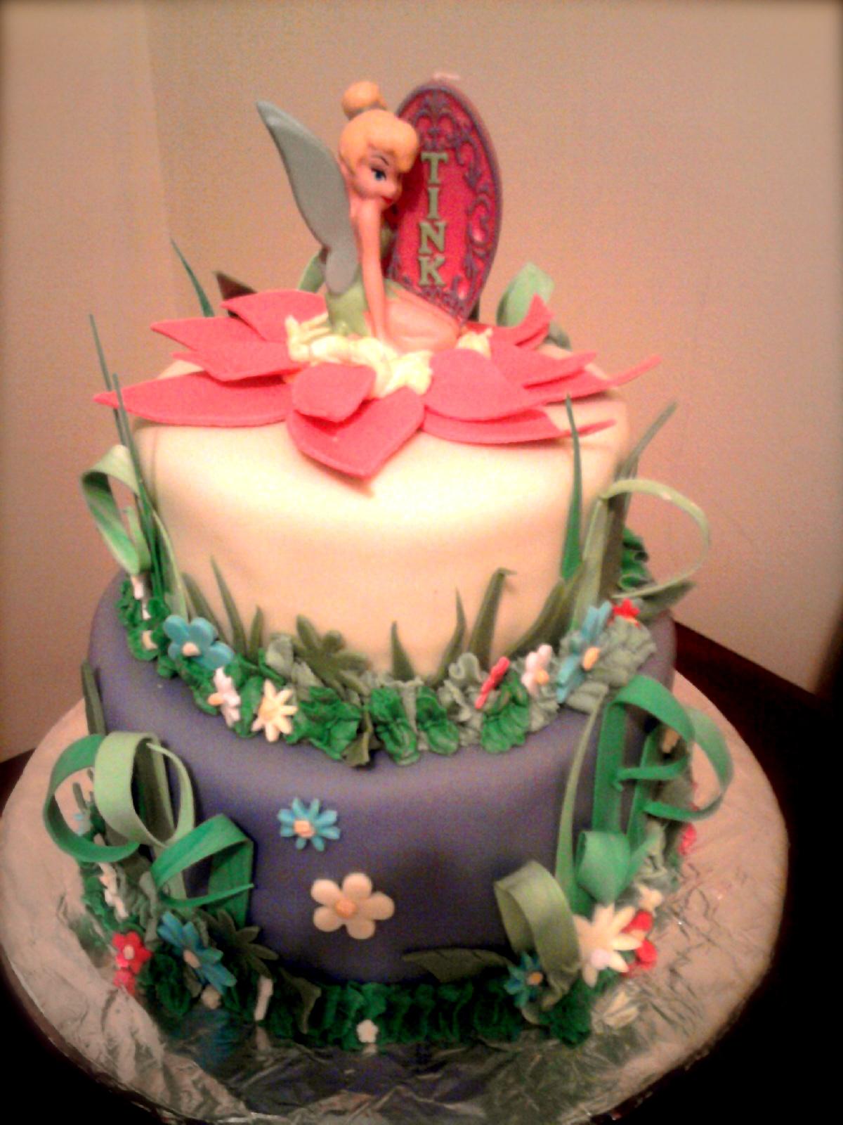 Tinkerbell Cake Images Photos : Fondantopia: Tinkerbell Cake