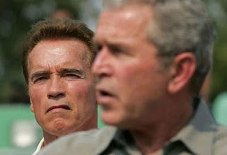 Swarchenegger and Bush