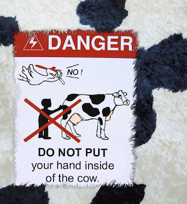 Cow warning
