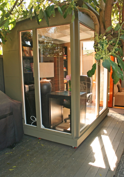Shedworking Garden Office On Wheels