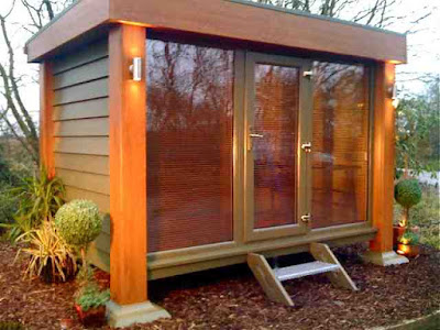 Available From January 6 2009, This Is The New And Rather Nice Q Century  Model Garden Office From Booths Garden Studios. Its Main Boast Is That The  Exterior ...
