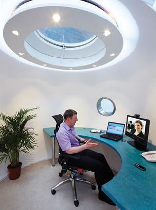 Shedworking Archipod Teams Up With Videoconferencing