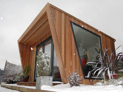 Shedworking pinnacle garden office offer for Cedar garden office
