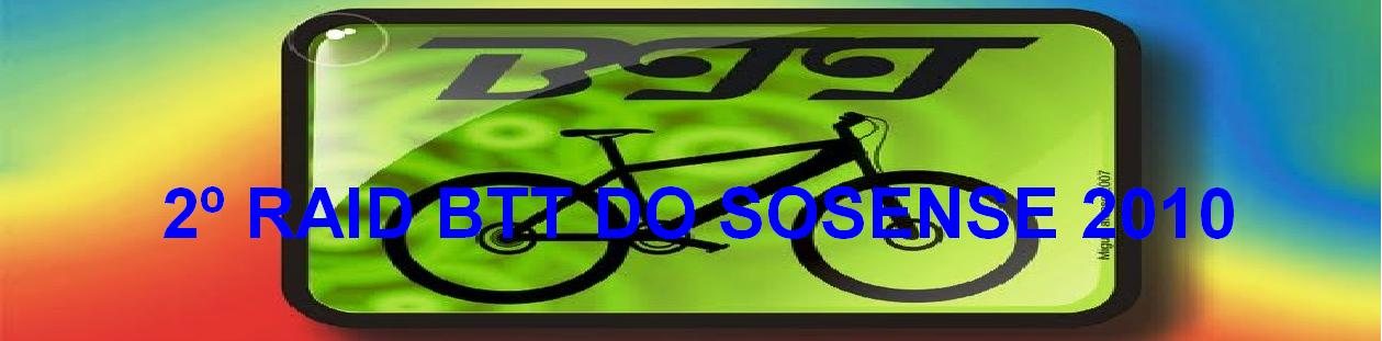 1º RAID 50KM BTT DO SOSENSE
