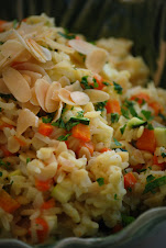 Orzo Pilaf with Vegetables