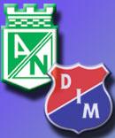 Atl Nacional vs Ind Medellin