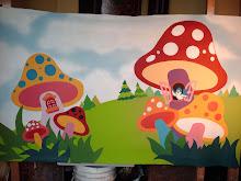 mural honguitos