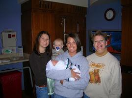 Jennifer, Janelle, Grandma, Landon, & Isabelle