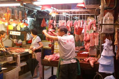 Image of a meat market