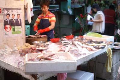 Image of a fish market