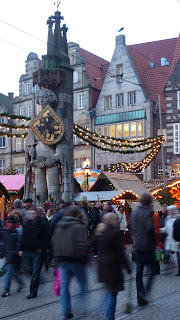 Image of Roland in the town square of Bremen, Germany